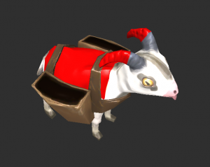 The goat which also serves as the gathering unit.