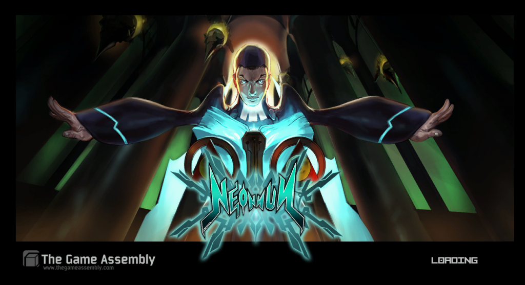 NeoNun's loadingscreen.