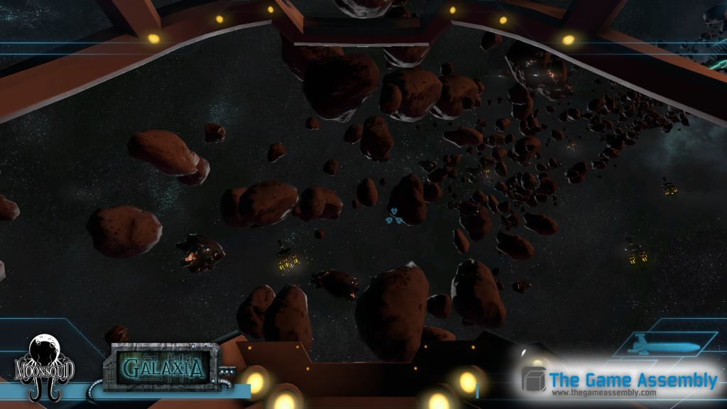 The player has to carefully avoid detection by the deployed space radars.